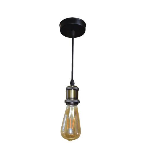Винтажный светильник бронза NL080-1