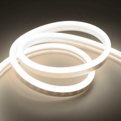 Неоновая лента SILICONE 12В SMD2835 120 д.м. IP68 4000К 8х16мм белый нейтральный (цена 1м)
