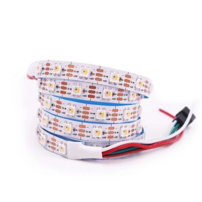 Светодиодная лента RGBWW SK6812 SMD 5050 5V 60 д.м. IP20 PIXEL (цена 1м)