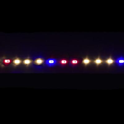 Светодиодная фитолинейка smd 5730 72led/m 12V IP20 1м (3 белых 4000К+2красных+1синий) STANDART