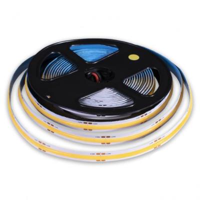 Cветодиодная лента COB 384д.м. 24V IP20 10W 1100Lm 3000K теплый белый (цена 1м)