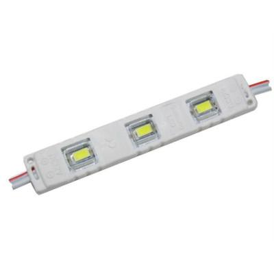 Светодиодные модули SMD5630/3J 0,96W с линзой, CW (холодный белый) чип SAMSUNG