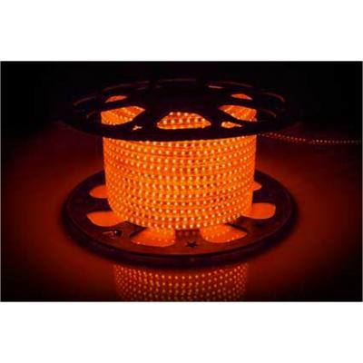 Светодиодная лента AVT-120B2835-220V-4W/m IP65 5mm оранжевый (цена за 1 м)