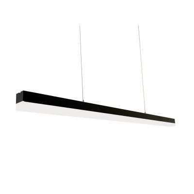 Подвесной светильник ДСО 36Вт 5000К IP42 ,L - 1130мм корпус алюминий черного цвета