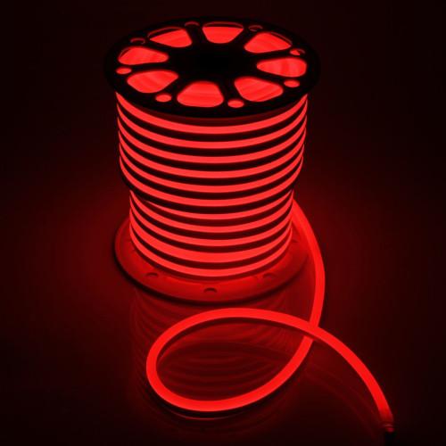 Неоновая лента SMD2835 120 д.м. (IP65) 220В 6mm красный (цена за 1 м)