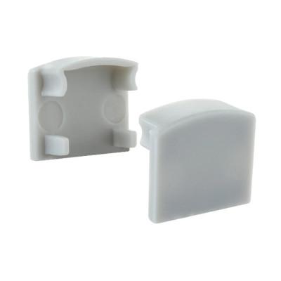 Заглушка для профиля ЛП12 12x16мм пластиковая