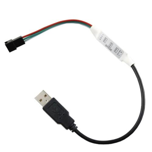 Контроллеры SPI мини SP002E USB DC5-24V (3 кнопоки) WS2811, WS2812, WS2813