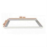 Рамка  накладного монтажа LED панели  60/30 см металл