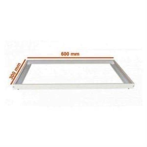 Рамка  накладного монтажа LED панели  60/30 см алюминий