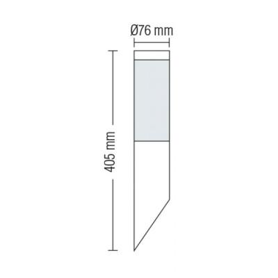 Светильники уличные фасадные DEFNE-1