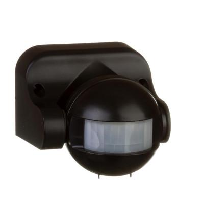 Датчик движения Led-Story 1200W 5A IP44 с регулировкой черный