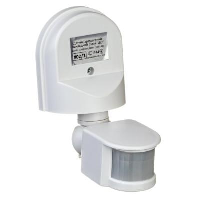 Датчик движения Led-Story 1200W 5A IP44 накладной с регулировкой белый