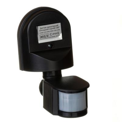 Датчик движения Led-Story 1200W 5A IP44 накладной с регулировкой черный
