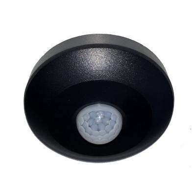 Датчик движения Right Hausen 1200W IP20 6A черный mini HN-061082 с регулировкой
