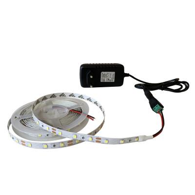 Набор светодиодной ленты SMD 2835 (60 LED/m) IP20 холодный белый 5м + блок питания + коннектор