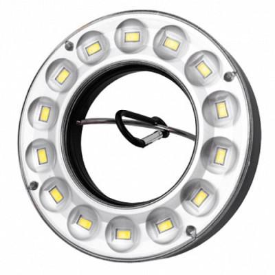 Светодиодные фонарики под батарейки 4ААА 982 14 SMD с карабином