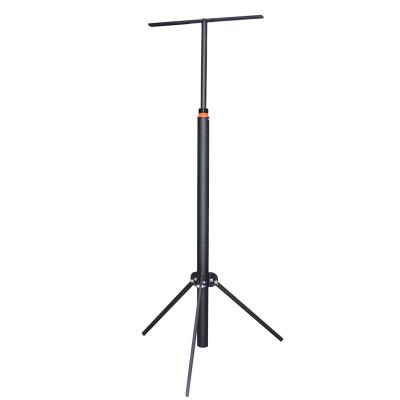 Стойка для прожектора телескопическая 1,1 - 1,8м, черная