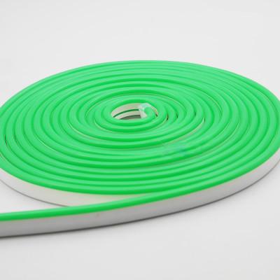 Неоновая лента AVT 120R2835-12V-6W/m IP65 6*12mm SILICONE зеленый (цена за 1 м)