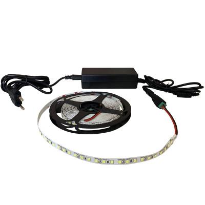 Набор светодиодной ленты SMD 2835 (120 LED/m) IP20 холодный белый 5м + блок питания + коннектор