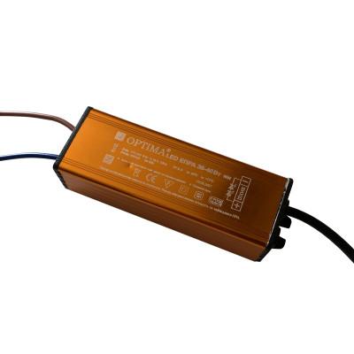 Лед драйвер для матовой led панели 36-40Вт 0,25А IP65 160-242V PF-0,5 PREMIUM