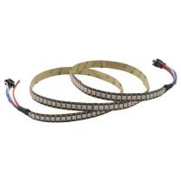 Светодиодные ленты Digital RGB SMD5050, WS2813 5В, 144LED/m IP20 1 м (цена за 1 м)