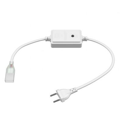 Адаптеры питания для RGB светодиодной ленты 8mm + коннектор 4 pin 220V 60-5050, IP65
