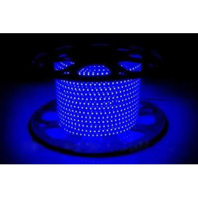 Светодиодная лента AVT-120B2835-220V-4W/m IP65 5mm синий (цена за 1 м)
