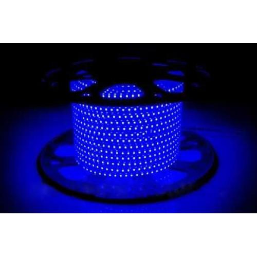 Светодиодные ленты AVT-120B2835-220V-4W/m IP65 5mm синий (цена за 1 м)