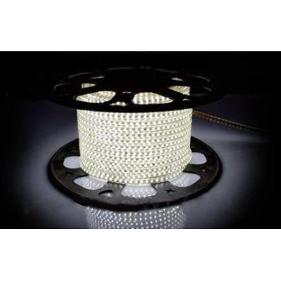 Светодиодная лента AVT-120B2835-220V-4W/m IP65 5mm белый холодный (цена за 1 м)