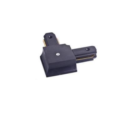 Соединитель для шинопровода однофазного трекового пирамидального,угловой,черный