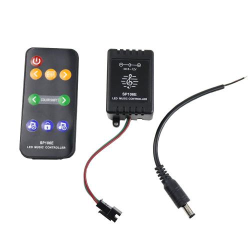 Контроллеры SPI SP106E Music RF для адресуемой пиксельной ленты