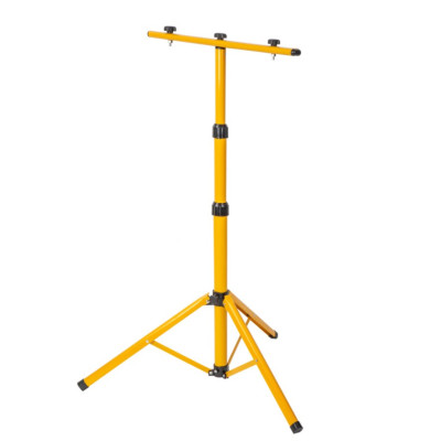 Штатив для прожектора, светильника, СМП2-50 желтый 65-160 см металл
