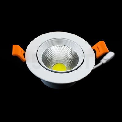 Лед светильник Biom DL-7W-R-COB 7Вт круглый 6000K белый