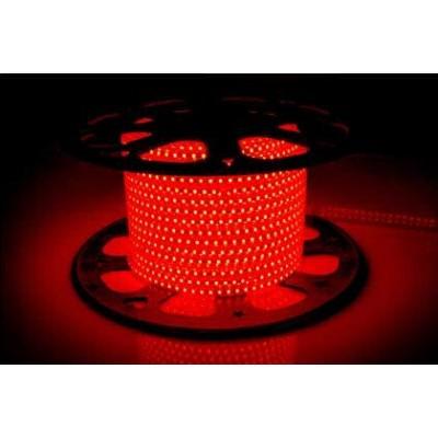 Светодиодная лента AVT-120B2835-220V-4W/m IP65 5mm красный (цена за 1 м)