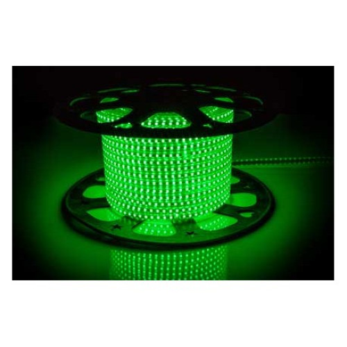 Светодиодные ленты AVT-120B2835-220V-4W/m IP65 5mm зеленый (цена за 1 м)