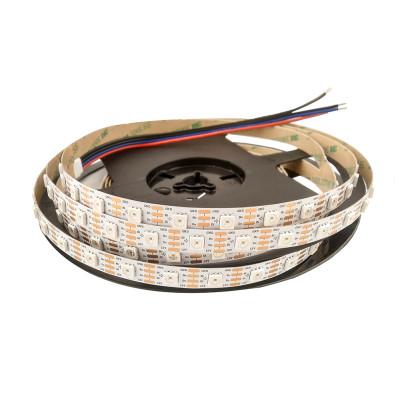 RGB SMART лента SMD 5050 12V 60 д.м. IP20 WS2815 (цена 1м)
