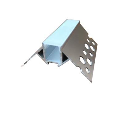 Алюминиевый профиль АЛ-21-2 внешний угол с рассеивателем 2м (цена за 1 м)