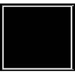 Накладные квадрат
